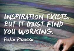 Inspiration, working.